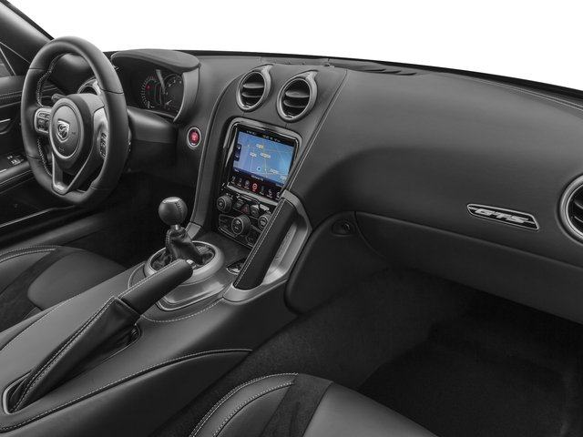 2016 Dodge Viper Prices and Values 2 Door Coupe passenger's dashboard