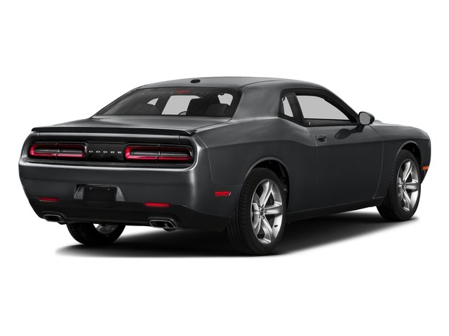 2016 Dodge Challenger Pictures Challenger Coupe 2D SXT V6 photos side rear view