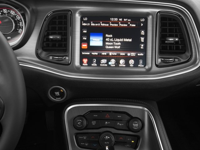 2016 Dodge Challenger Pictures Challenger Coupe 2D R/T Plus V8 photos stereo system
