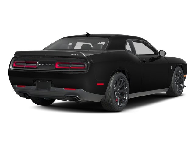 2016 Dodge Challenger Prices and Values Coupe 2D SRT Hellcat V8 Supercharged side rear view