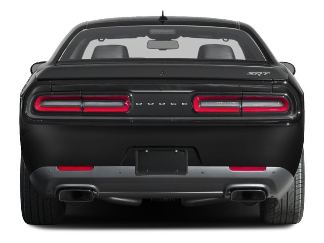 2016 Dodge Challenger Prices and Values Coupe 2D SRT Hellcat V8 Supercharged rear view