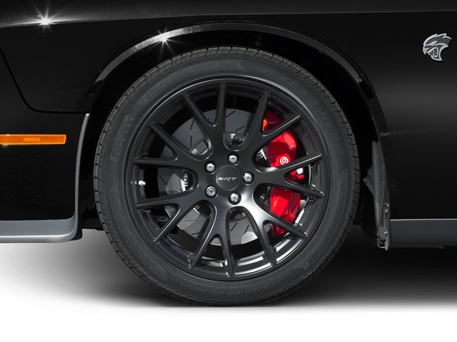 2016 Dodge Challenger Prices and Values Coupe 2D SRT Hellcat V8 Supercharged wheel