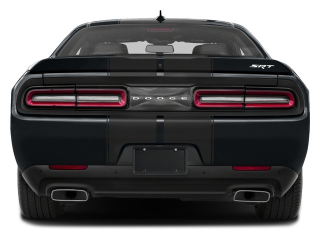 2016 Dodge Challenger Prices and Values Coupe 2D SRT 392 V8 rear view
