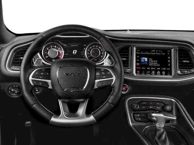 2016 Dodge Challenger Prices and Values Coupe 2D SRT 392 V8 driver's dashboard
