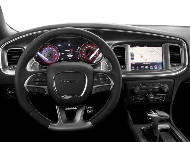 2016 Dodge Charger Prices and Values Sedan 4D SRT Hellcat V8 Supercharged driver's dashboard