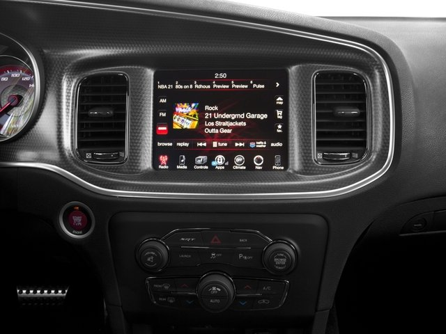 2016 Dodge Charger Prices and Values Sedan 4D SRT Hellcat V8 Supercharged stereo system