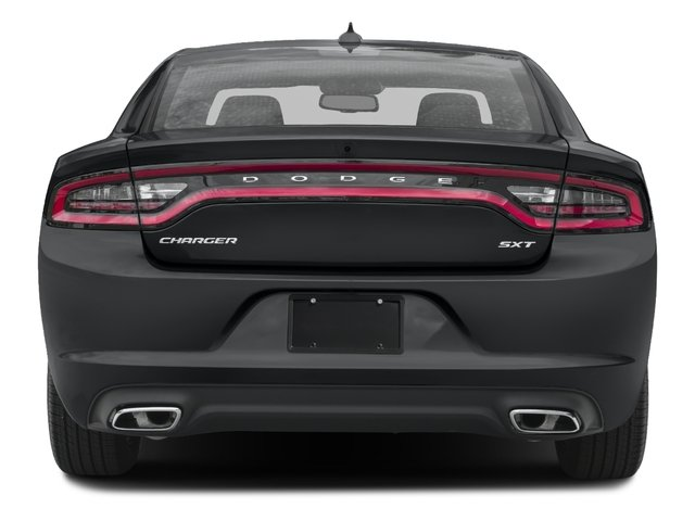 2016 Dodge Charger Prices and Values Sedan 4D SXT V6 rear view
