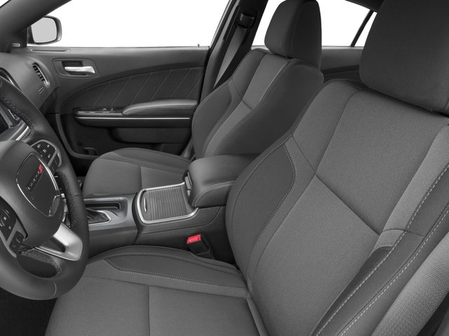 2016 Dodge Charger Prices and Values Sedan 4D SXT V6 front seat interior