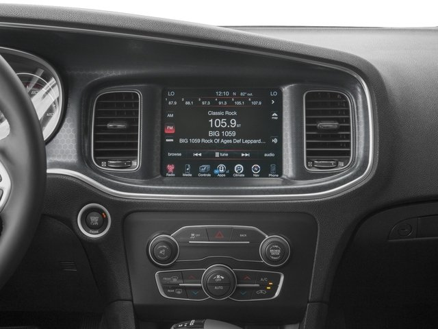 2016 Dodge Charger Prices and Values Sedan 4D SXT V6 stereo system
