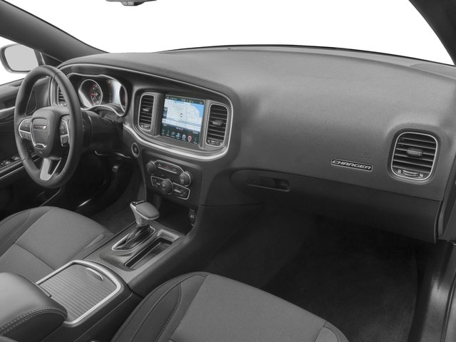2016 Dodge Charger Prices and Values Sedan 4D SXT V6 passenger's dashboard