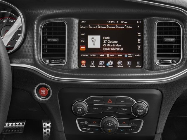 2016 Dodge Charger Prices and Values Sedan 4D SRT 392 V8 stereo system