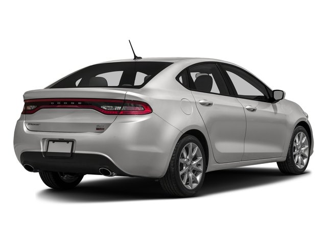 2016 Dodge Dart Pictures Dart Sedan 4D SXT Sport I4 photos side rear view