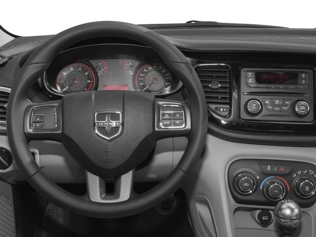 2016 Dodge Dart Prices and Values Sedan 4D SXT I4 driver's dashboard