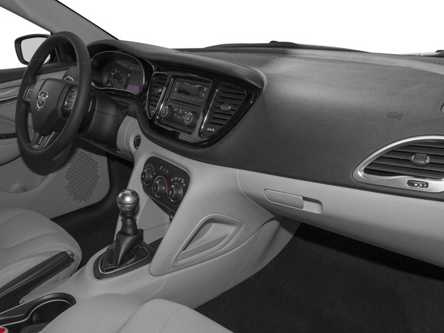 2016 Dodge Dart Prices and Values Sedan 4D SXT I4 passenger's dashboard