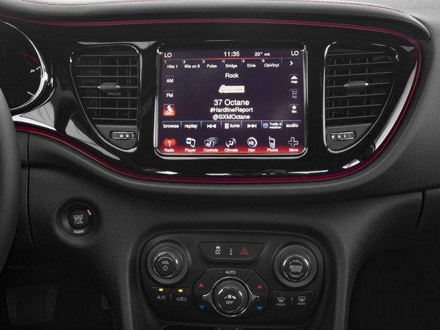 2016 Dodge Dart Pictures Dart Sedan 4D GT I4 photos stereo system