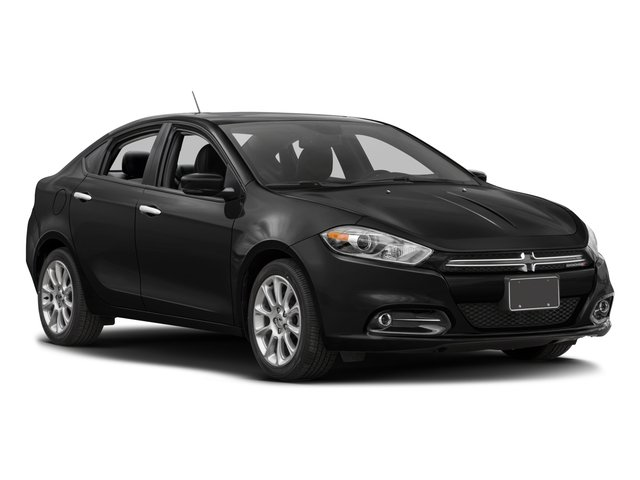 2016 Dodge Dart Prices and Values Sedan 4D Limited I4 side front view