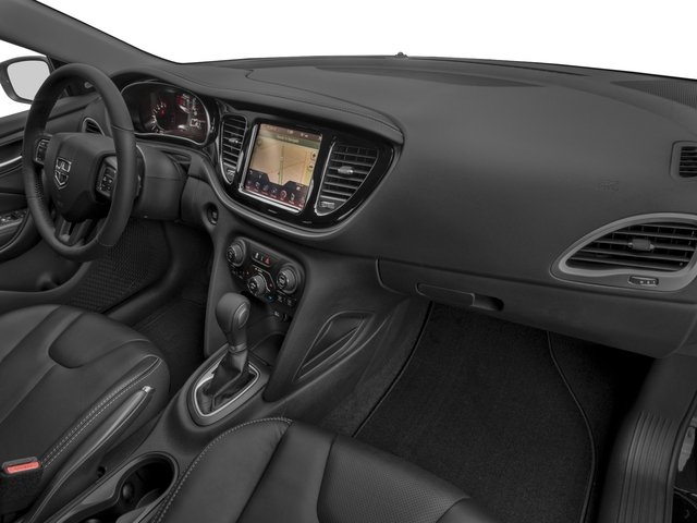 2016 Dodge Dart Prices and Values Sedan 4D Limited I4 passenger's dashboard