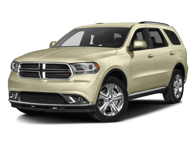 2016 Dodge Durango Prices and Values Utility 4D SXT AWD V6 side front view