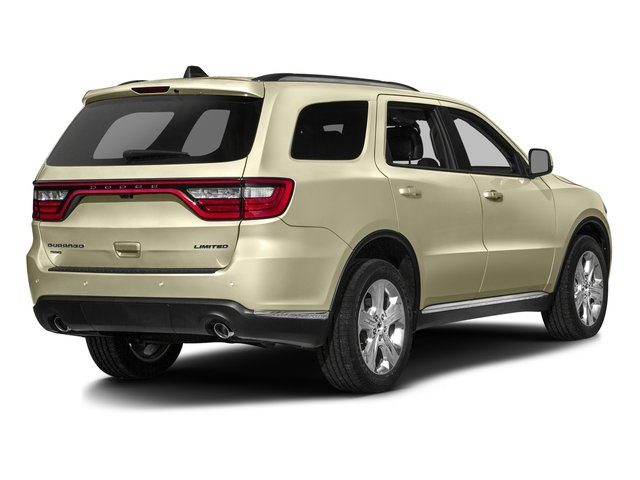 2016 Dodge Durango Prices and Values Utility 4D SXT 2WD V6 side rear view