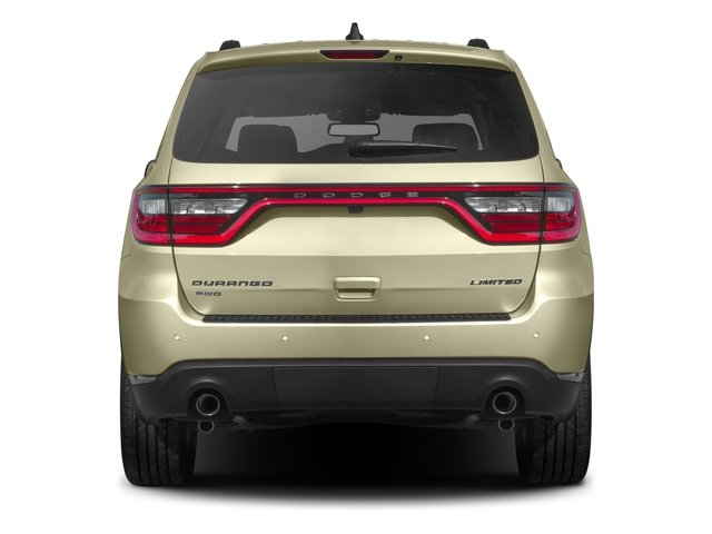 2016 Dodge Durango Prices and Values Utility 4D SXT AWD V6 rear view