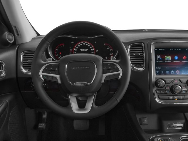 2016 Dodge Durango Prices and Values Utility 4D SXT AWD V6 driver's dashboard