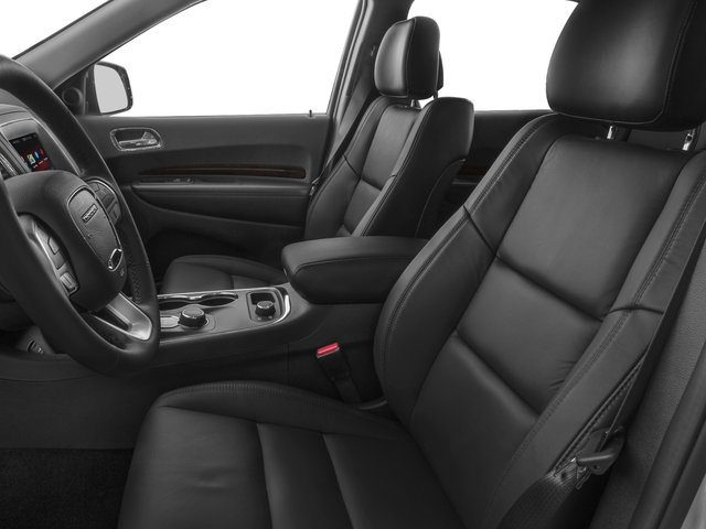 2016 Dodge Durango Prices and Values Utility 4D SXT 2WD V6 front seat interior
