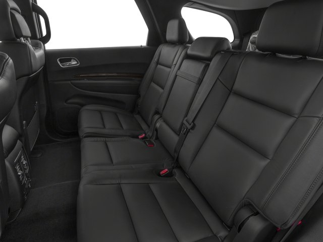2016 Dodge Durango Prices and Values Utility 4D SXT 2WD V6 backseat interior