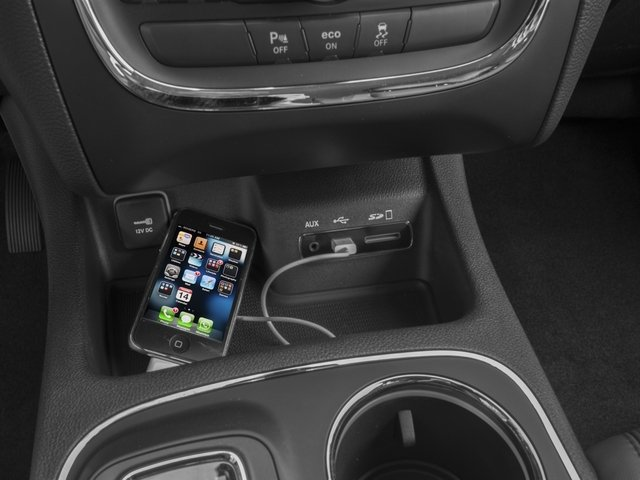 2016 Dodge Durango Prices and Values Utility 4D SXT AWD V6 iPhone Interface