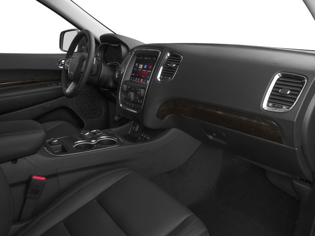2016 Dodge Durango Prices and Values Utility 4D SXT 2WD V6 passenger's dashboard