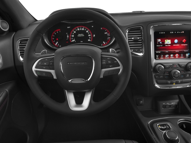 2016 Dodge Durango Prices and Values Utility 4D R/T 2WD V8 driver's dashboard