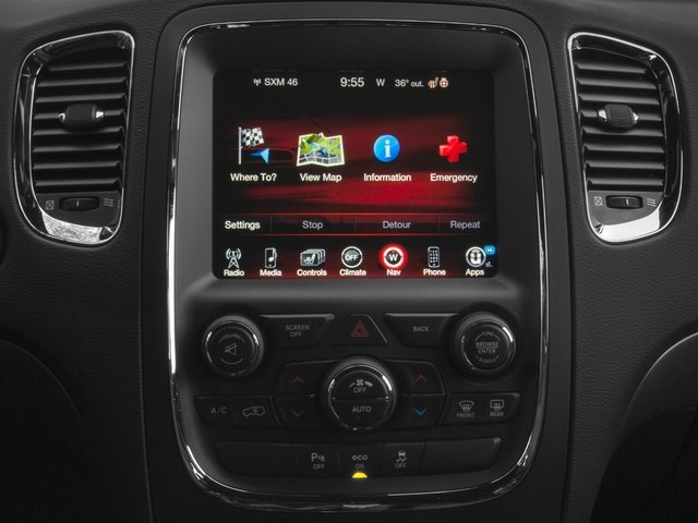 2016 Dodge Durango Prices and Values Utility 4D R/T 2WD V8 stereo system