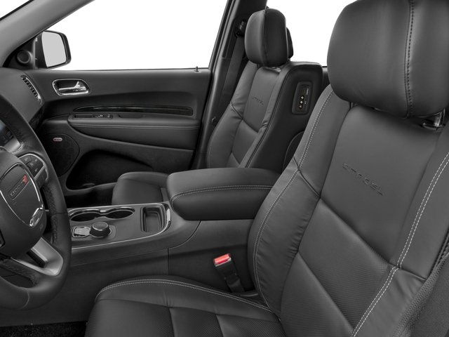 2016 Dodge Durango Prices and Values Utility 4D Citadel 2WD V6 front seat interior