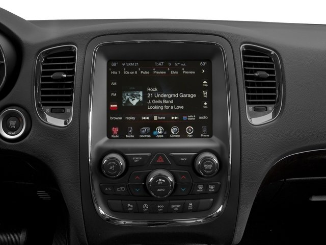 2016 Dodge Durango Prices and Values Utility 4D Citadel 2WD V6 stereo system