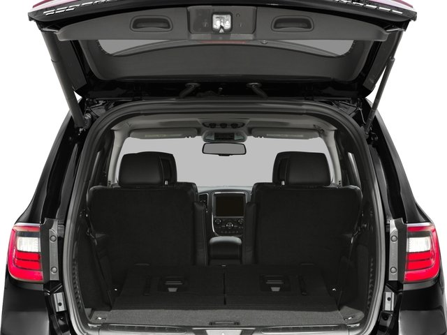 2016 Dodge Durango Prices and Values Utility 4D Citadel 2WD V6 open trunk