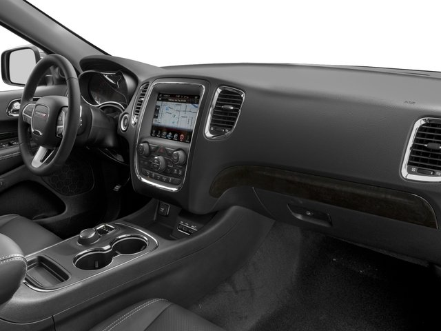 2016 Dodge Durango Prices and Values Utility 4D Citadel 2WD V6 passenger's dashboard