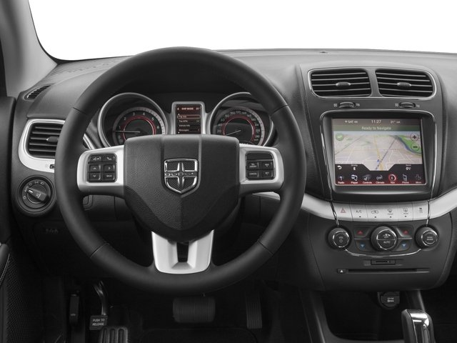 2016 Dodge Journey Prices and Values Utility 4D R/T 2WD V6 driver's dashboard