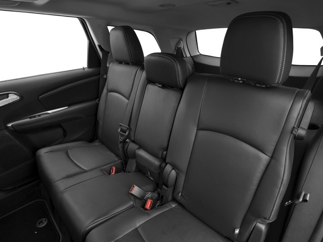 2016 Dodge Journey Prices and Values Utility 4D R/T 2WD V6 backseat interior