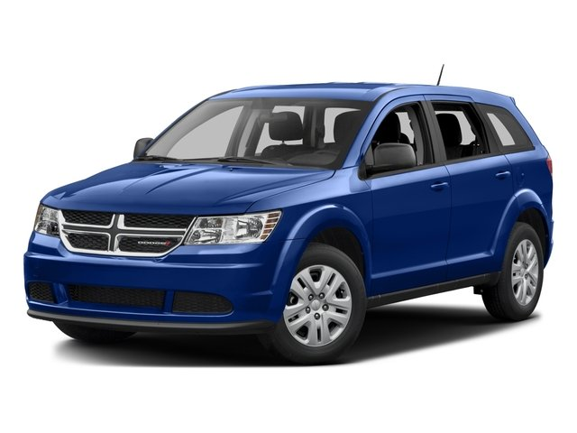 2016 Dodge Journey Prices and Values Utility 4D SE 2WD I4 side front view