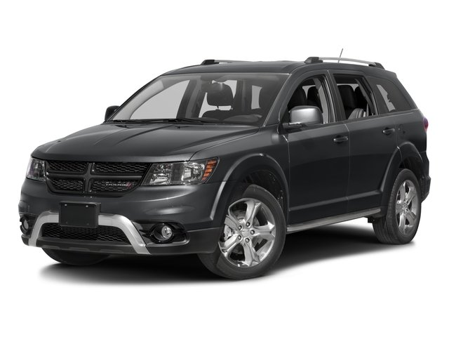 2016 Dodge Journey Prices and Values Utility 4D Crossroad AWD V6 side front view