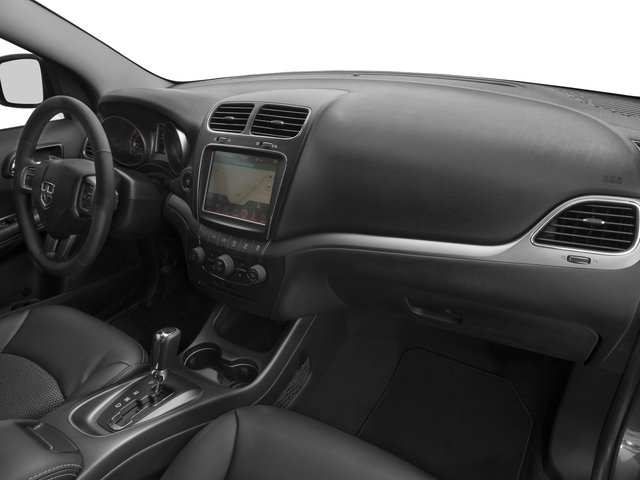 2016 Dodge Journey Prices and Values Utility 4D Crossroad 2WD V6 passenger's dashboard