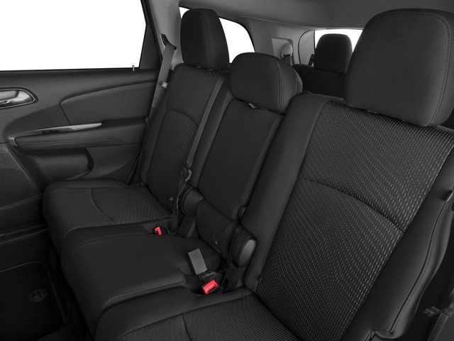 2016 Dodge Journey Prices and Values Utility 4D SXT 2WD V6 backseat interior