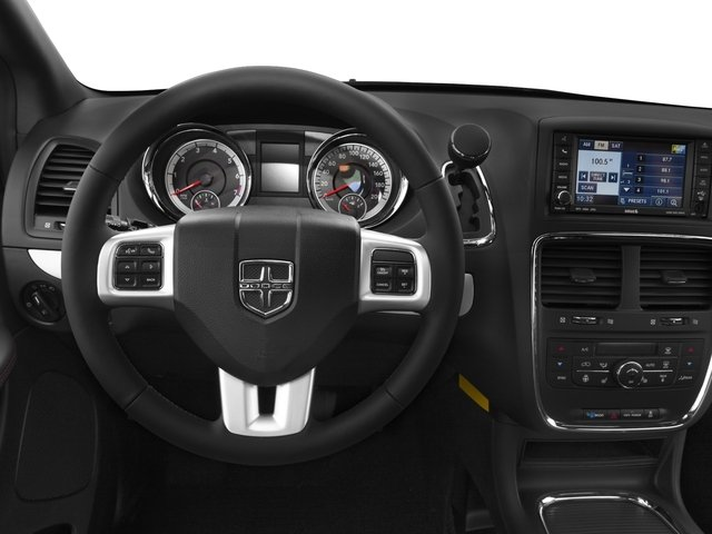 2016 Dodge Grand Caravan Prices and Values Grand Caravan R/T V6 driver's dashboard
