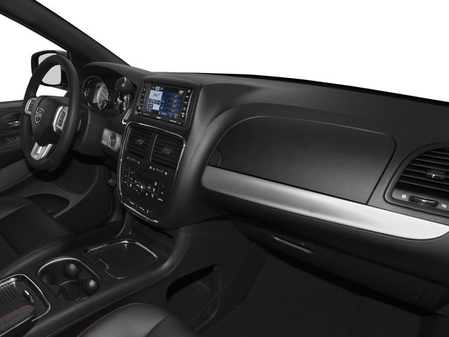 2016 Dodge Grand Caravan Prices and Values Grand Caravan R/T V6 passenger's dashboard