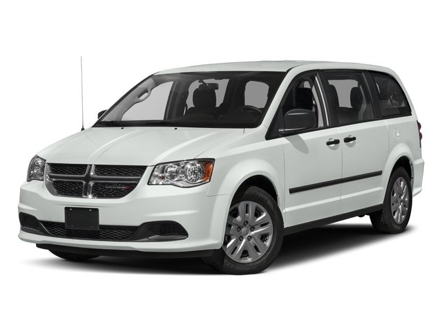 2016 Dodge Grand Caravan Prices and Values Grand Caravan SE V6 side front view