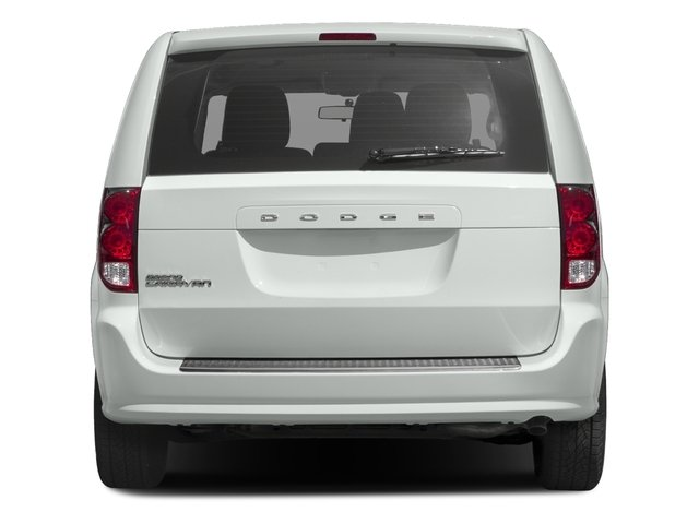2016 Dodge Grand Caravan Prices and Values Grand Caravan SE V6 rear view