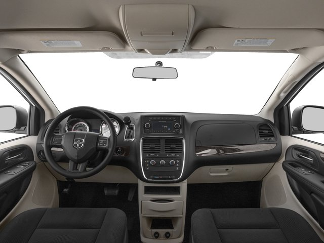 2016 Dodge Grand Caravan Prices and Values Grand Caravan SE V6 full dashboard