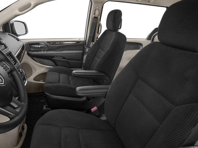 2016 Dodge Grand Caravan Prices and Values Grand Caravan SE V6 front seat interior