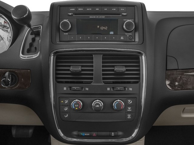2016 Dodge Grand Caravan Prices and Values Grand Caravan SE V6 stereo system