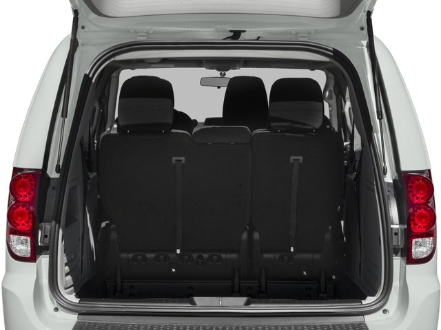 2016 Dodge Grand Caravan Prices and Values Grand Caravan SE V6 open trunk
