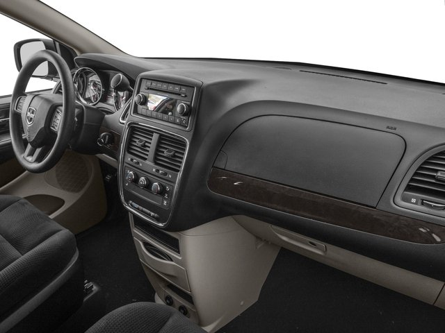 2016 Dodge Grand Caravan Prices and Values Grand Caravan SE V6 passenger's dashboard